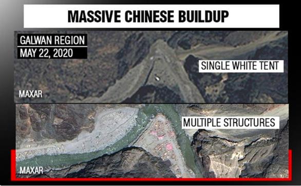 Ảnh vệ tinh lộ ra các công trình sát biên giới với Ấn Độ của Trung Quốc tăng ồ ạt - Ảnh 2.