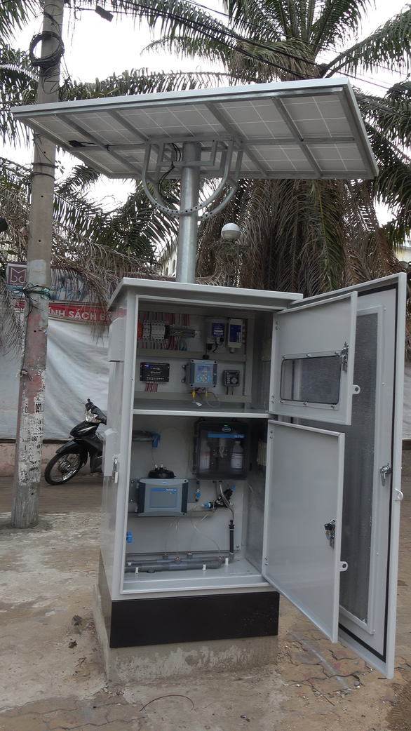 Giám sát chất lượng nước bằng các trạm quan trắc online - Ảnh 1.