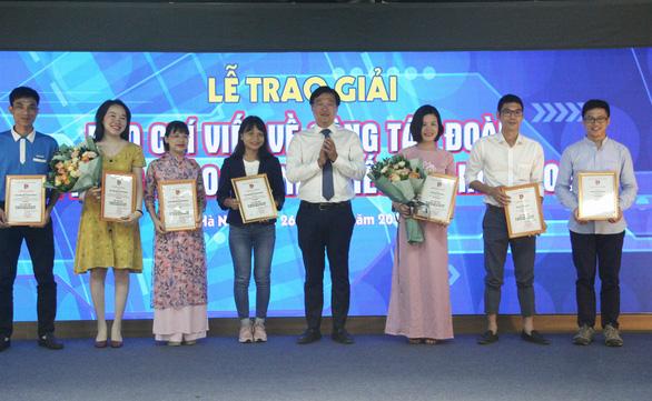 Báo Tuổi Trẻ đoạt 3 giải báo chí viết về công tác đoàn - Ảnh 1.