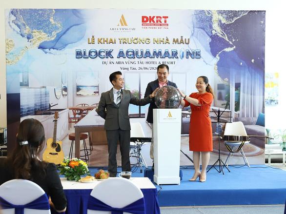 Gần 300 khách hàng tham quan trải nghiệm nhà mẫu khu căn hộ 'resort' Aquamarine - Ảnh 1.