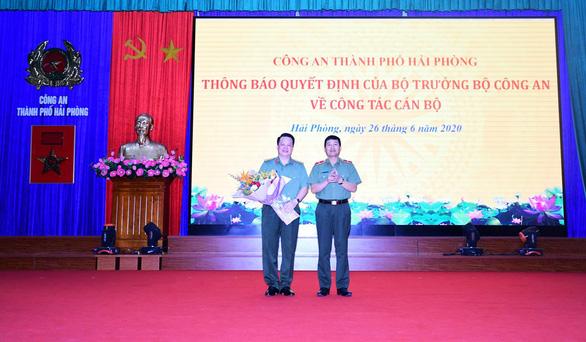 Phó giám đốc Công an Hải Phòng làm giám đốc Công an tỉnh Hà Nam - Ảnh 1.