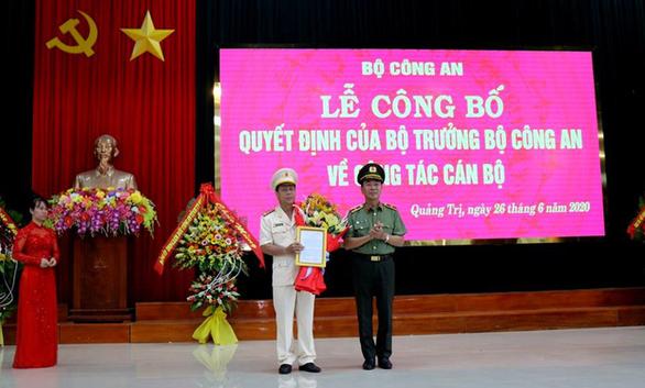 Quảng Bình, Quảng Trị có tân giám đốc công an tỉnh - Ảnh 1.