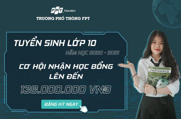 Trường THPT FPT Đà Nẵng trao 60 suất học bổng cho học sinh lớp 9 - Ảnh 2.