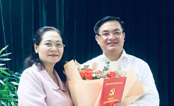 Bí thư quận 3 Trần Trọng Tuấn giữ chức phó chánh Văn phòng Thành ủy TP.HCM - Ảnh 1.