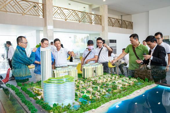 Gần 300 khách hàng tham quan trải nghiệm nhà mẫu khu căn hộ 'resort' Aquamarine - Ảnh 3.