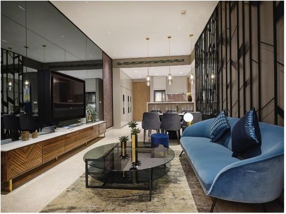 Đưa thời trang vào nội thất trong căn hộ The River Thu Thiem - Ảnh 2.