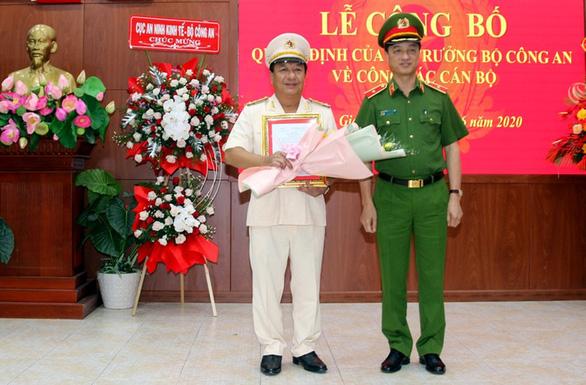 Phó cục trưởng Cục An ninh kinh tế làm giám đốc Công an Kiên Giang - Ảnh 1.