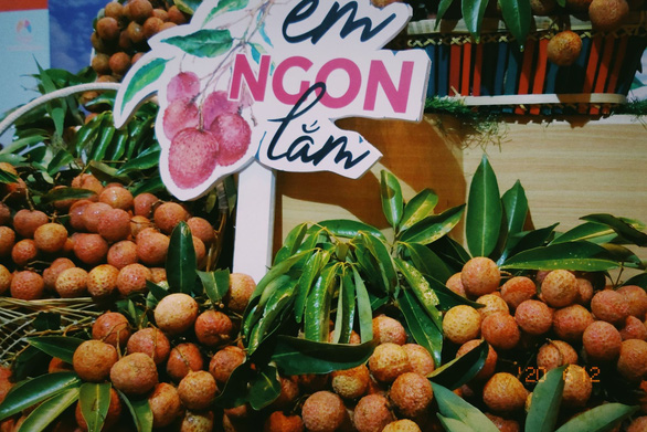 Vải thiều Việt Nam đang được bán tại 250 siêu thị ở Nhật Bản - Ảnh 1.
