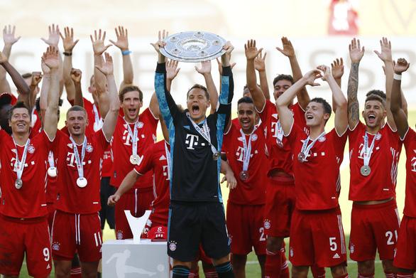 Bayern Munich đăng quang trong lặng lẽ - Ảnh 4.