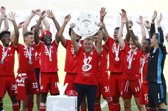 Bayern Munich đăng quang trong lặng lẽ - Ảnh 6.