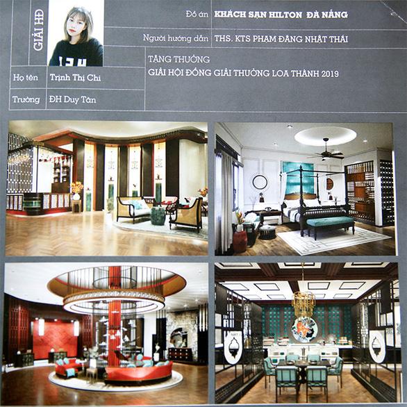 Các ngành kiến trúc công trình, kiến trúc nội thất, và thiết kế đồ họa tại ĐH Duy Tân - Ảnh 2.