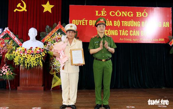 Bổ nhiệm giám đốc và phó giám đốc Công an tỉnh An Giang - Ảnh 1.