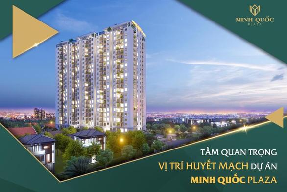 Minh Quốc Plaza thổi làn gió mới vào thị trường căn hộ TP. Thủ Dầu Một - Ảnh 1.