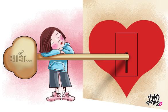 Nói với con về tình yêu: Hãy học cách yêu thương thật sự - Ảnh 1.