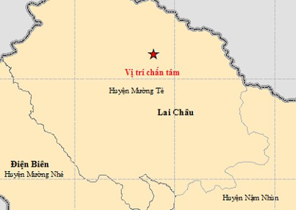 Lần thứ 5 trong tháng có động đất ở Lai Châu - Ảnh 1.