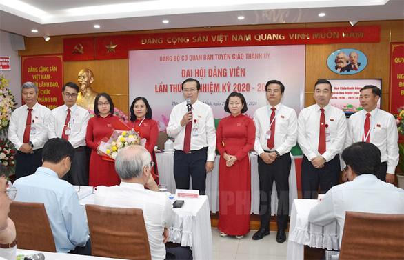 Ông Lê Văn Minh giữ chức bí thư Đảng ủy cơ quan Ban tuyên giáo Thành ủy TP.HCM - Ảnh 1.