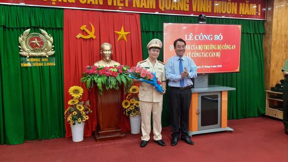 Công an Vĩnh Long có tân phó giám đốc quê Nam Định - Ảnh 1.