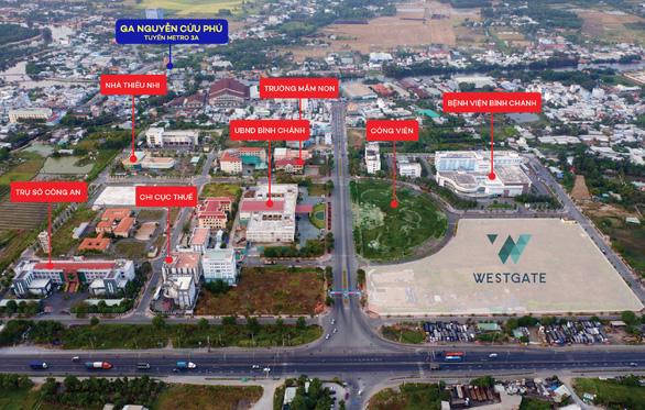 Trung tâm hành chính Tây Sài Gòn và cơ hội từ tuyến Metro 3A - Ảnh 3.