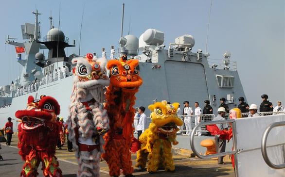 Ông Hun Sen phủ nhận chỉ cho tàu chiến Trung Quốc vào quân cảng chiến lược - Ảnh 1.