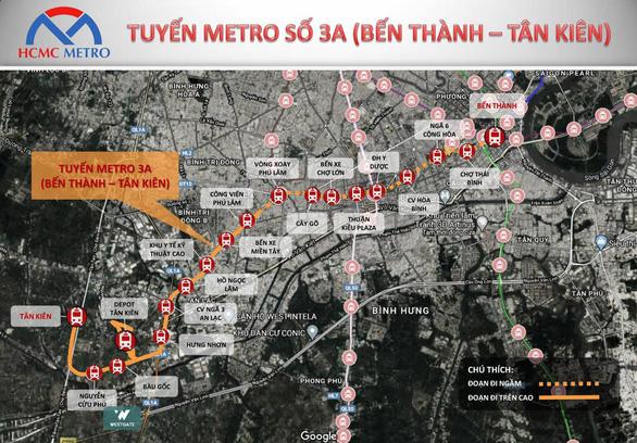 Trung tâm hành chính Tây Sài Gòn và cơ hội từ tuyến Metro 3A - Ảnh 2.