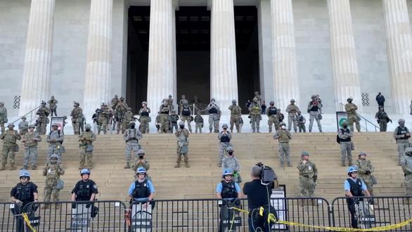 Lầu Năm Góc huy động 1.600 quân đến giữ trật tự vùng thủ đô Washington - Ảnh 1.
