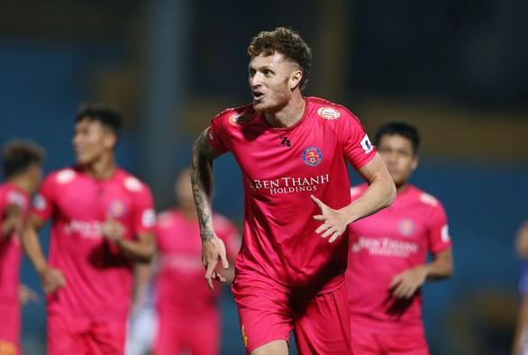 Đánh bại Hà Nội, Sài Gòn tiếp tục bất bại tại V-League 2020 - Ảnh 1.