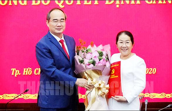 Phó bí thư Thành ủy TP.HCM Võ Thị Dung nghỉ hưu - Ảnh 1.