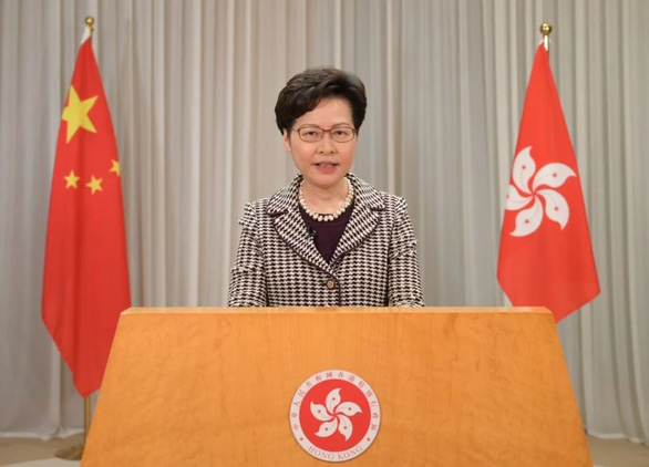 Châu Âu lên án Trung Quốc, lãnh đạo Hong Kong kêu gọi tôn trọng - Ảnh 3.