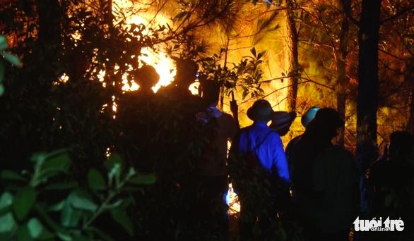 Khu vực cháy rừng ở Nghệ An, Hà Tĩnh còn nắng nóng gay gắt đến 3-7 - Ảnh 1.