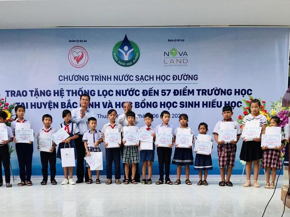 Nước sạch học đường đến với giáo viên, học sinh huyện Bắc Bình, Bình Thuận - Ảnh 3.