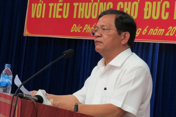 Bộ Chính trị cảnh cáo Bí thư Quảng Ngãi Lê Viết Chữ - Ảnh 1.