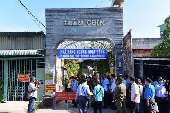 Cưỡng chế tháo dỡ resort Gia Trang từ 11-6 cho tới khi hoàn tất - Ảnh 1.