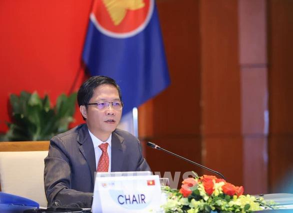 ASEAN và Nhật, Hàn, Trung Quốc thống nhất về nhu cầu tái cấu trúc chuỗi cung ứng - Ảnh 1.