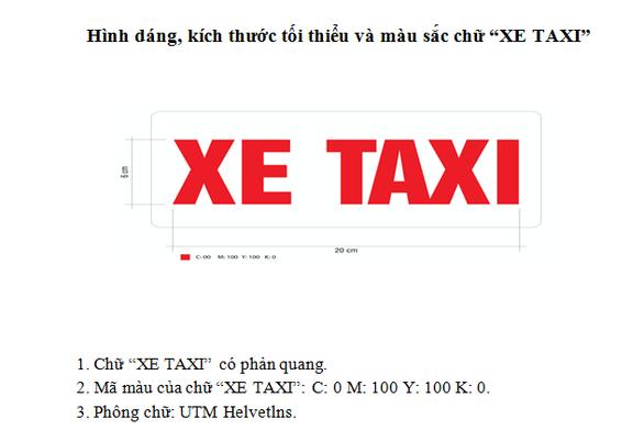 Xe hợp đồng điện tử kiểu Grab và taxi phải niêm yết thông tin gì? - Ảnh 3.