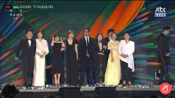 Ký sinh trùng và Khi hoa trà nở thắng đậm giải phim Baeksang Hàn Quốc - Ảnh 2.