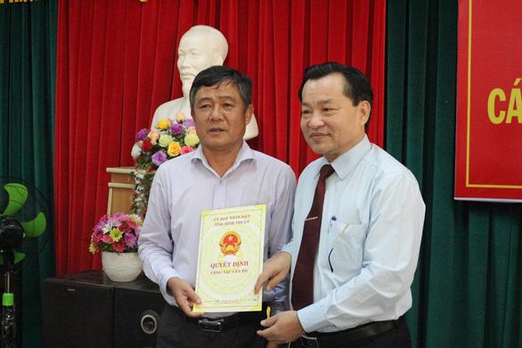 Sở Tài nguyên - môi trường Bình Thuận có giám đốc mới - Ảnh 2.