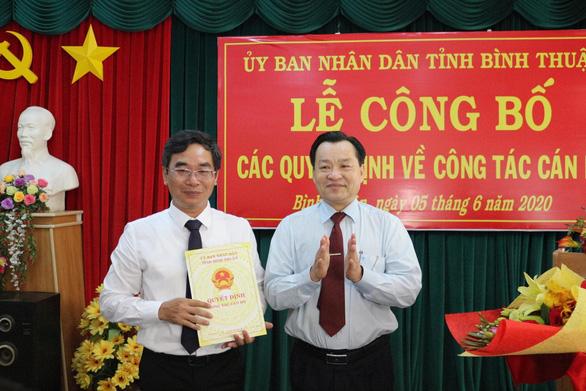 Sở Tài nguyên - môi trường Bình Thuận có giám đốc mới - Ảnh 1.