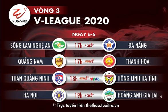 Kết quả và bảng xếp hạng vòng 3 V-League 2020: Hà Nội tốp 4, HAGL thứ 9 - Ảnh 4.