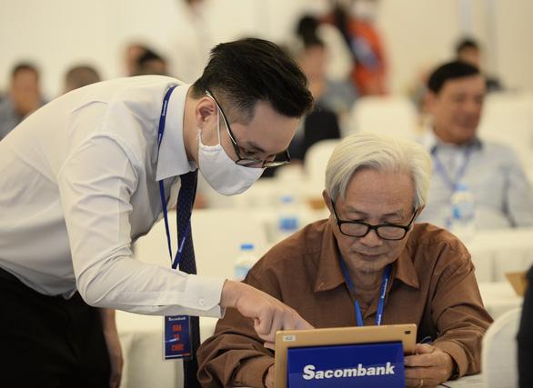 'Năm 2022-2023, cổ đông Sacombank sẽ không còn phải than về cổ tức' - Ảnh 1.
