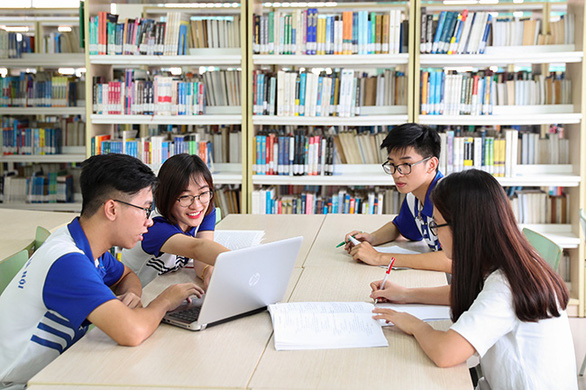 ĐH Quốc gia Hà Nội: Ngành y khoa có điểm chuẩn cao nhất 28,35 điểm - Ảnh 1.