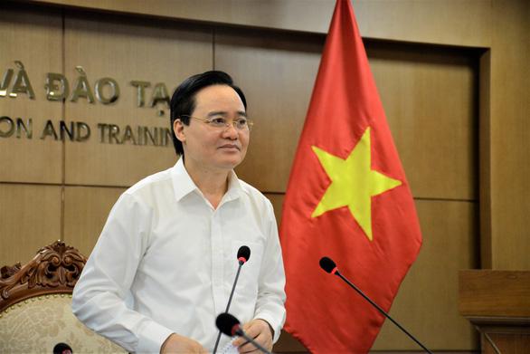 Bộ trưởng Phùng Xuân Nhạ: Kỳ thi không đơn thuần để công nhận tốt nghiệp THPT - Ảnh 1.