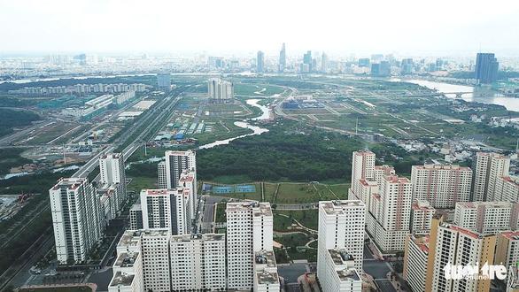 Chọn hình tượng lá dừa nước để thiết kế cầu đi bộ qua sông Sài Gòn - Ảnh 1.