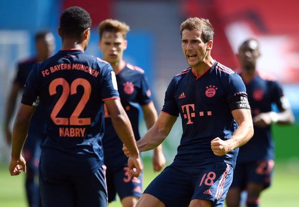 Thắng ngược Leverkusen, Bayern Munich tiến gần ngôi vô địch - Ảnh 3.