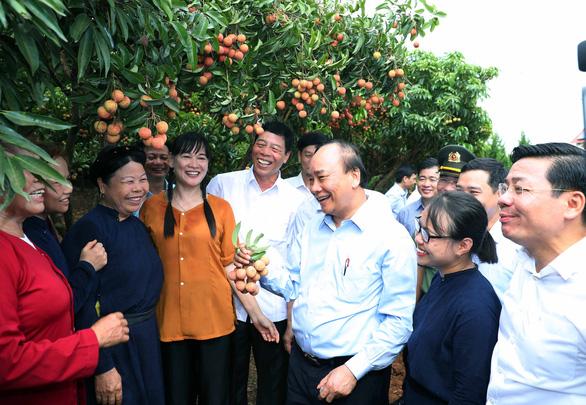 Thủ tướng động viên đoàn xe xuất hành tiêu thụ vải thiều Bắc Giang - Ảnh 3.