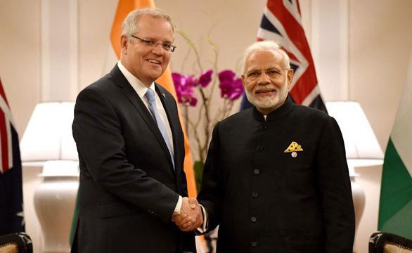 Ấn, Úc bắt tay đối trọng Trung Quốc - Ảnh 1.