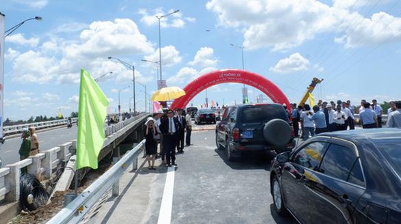 8 tháng hoàn thành 23 cây cầu từ vốn ODA của Nhật Bản - Ảnh 1.
