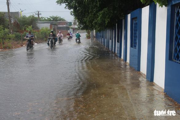 Mưa đá giải nhiệt vùng hạn Ninh Thuận - Ảnh 3.