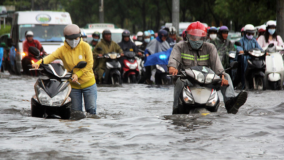 Tháng 4-2021, rốn ngập ở đường Nguyễn Hữu Cảnh hết ngập? - Ảnh 2.