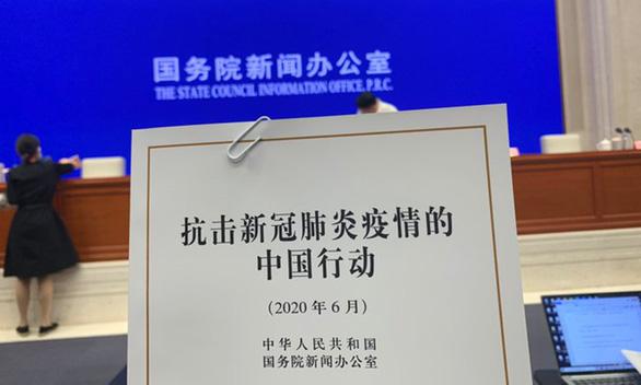 Trung Quốc công bố Sách trắng COVID-19, tuyên bố tuyệt đối không bồi thường - Ảnh 1.
