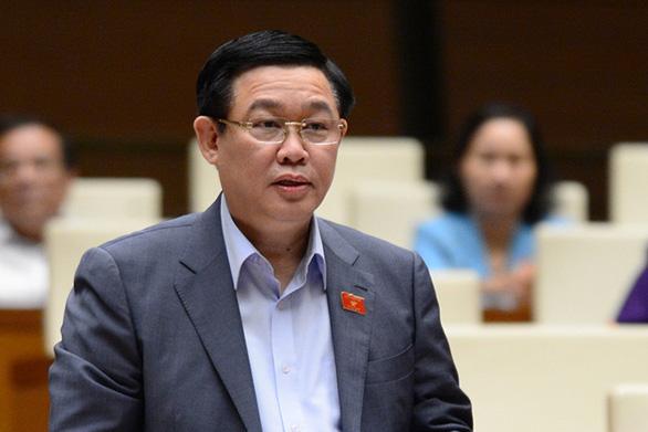 Quốc hội sẽ miễn nhiệm chức phó thủ tướng với ông Vương Đình Huệ - Ảnh 1.